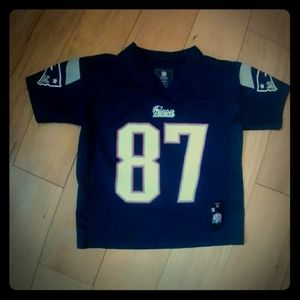 Boys Athletic Top Jersey Size 4 Gronkowski